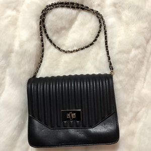 Handbags - CHARLES & KEITH Cross Body Black Bag.